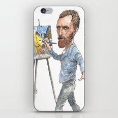 Van Gogh Paints Night Cafe iPhone & iPod Skin