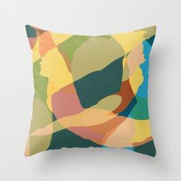 Diver v3 Throw Pillow