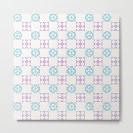 Simple Dream Pattern Metal Print