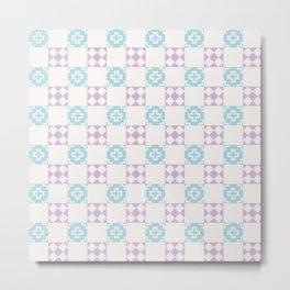 Simple Dream Pattern Metal Print