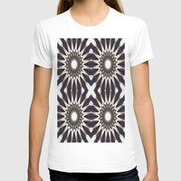 chocolate T-shirts featuring Chocolate Flower Mandala Pattern by 2sweet4words Designs