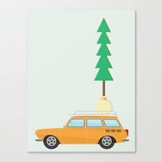 Modern day lumberjack Canvas Print