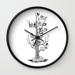 The BahKadisch Tree Wall Clock