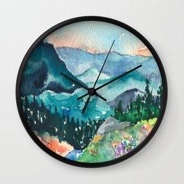 Valley of Dreams Wall Clock