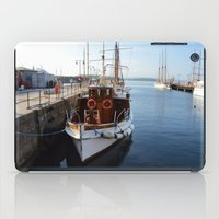 oslo iPad Cases featuring Classic Boats In Oslo by Malcolm Snook