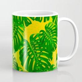 Monstera deliciosa superimposition #society6 #decor #buyart Coffee Mug