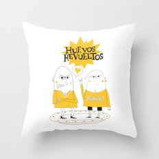 Huevos Revueltos Throw Pillow