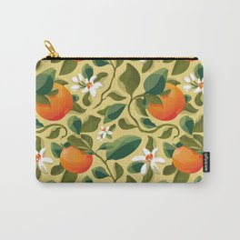 Summer Orange Carry-All Pouch