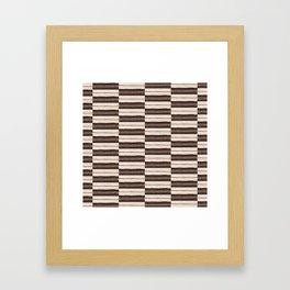 Flat Weavin 6 Framed Art Print