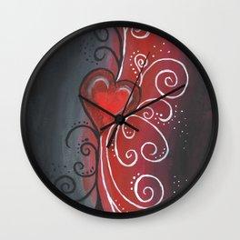 Rays of Love Wall Clock