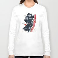 new jersey Long Sleeve T-shirts featuring NEW JERSEY by Christiane Engel