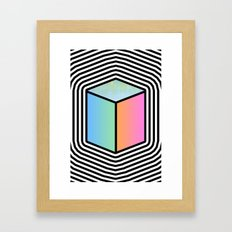 Finding my within Framed Art Print