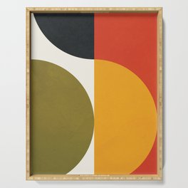 Attached Abstraction 10 Serving Tray