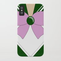 sailor jupiter iPhone & iPod Cases featuring Sailor Jupiter by kscullington | kristina anne