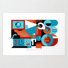Creative Technologies Art Print