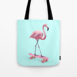 SKATE FLAMINGO Tote Bag