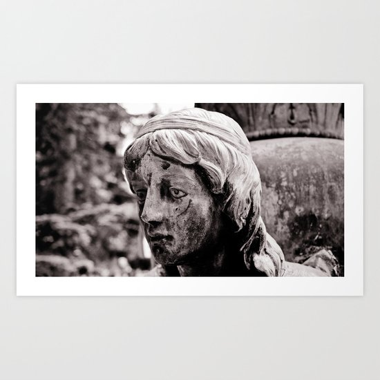 Silent memory Art Print