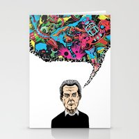 kirby Stationery Cards featuring Jack Kirby by Miguel Villasanta