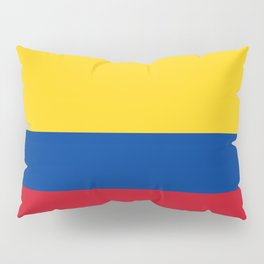 Colombian Flag - Flag of Colombia Pillow Sham