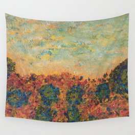 Flowers of Provence Wall Tapestry