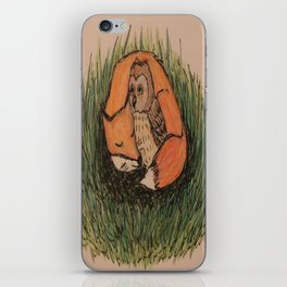 Fox & Owl iPhone Skin