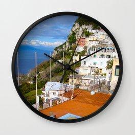 Isle of Capri! Wall Clock
