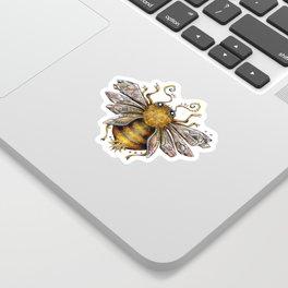 Crystal bumblebee Sticker