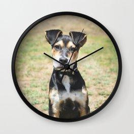 Cute Puppy Wall Clock