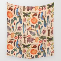 tropical Wall Tapestries featuring Tropical by Vladimir Stankovic