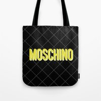moschino Tote Bags featuring MOSCHINO Quilted Bag by RickyRicardo787
