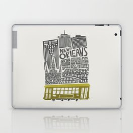 New Orleans City Cityscape Laptop & iPad Skin
