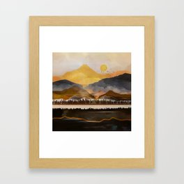 Pure Wilderness at Dusk Framed Art Print
