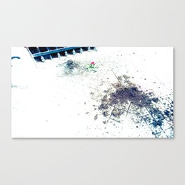 Remains of love? Canvas Print