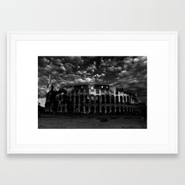 Gladiators in Rome Framed Art Print