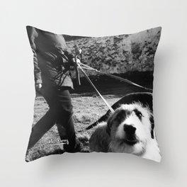 WALKIES  Throw Pillow