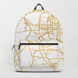 BEIJING CHINA CITY STREET MAP ART Backpack