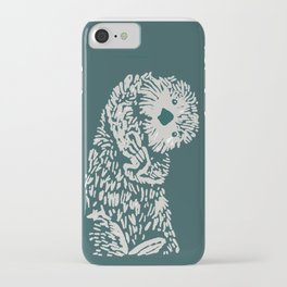 The handsome sea otter iPhone Case