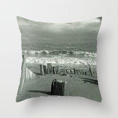 BEACH WORSHIP Throw Pillow