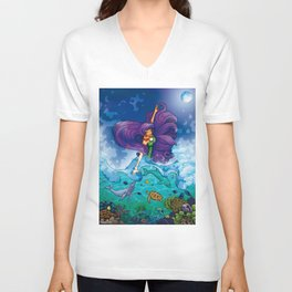 The Sea Unisex V-Neck