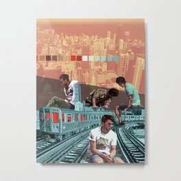 Chicago Red Line Metal Print
