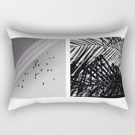 The Birds and the Trees Rectangular Pillow
