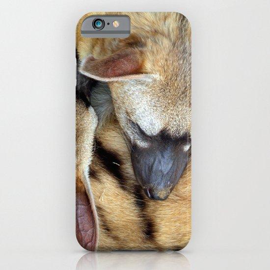 Three Sleeping Aardwolves iPhone & iPod Case