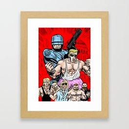 CAPITAL COMBAT '90 Framed Art Print