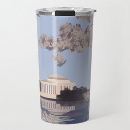 Jefferson Memorial Washington D.C. Print Travel Mug