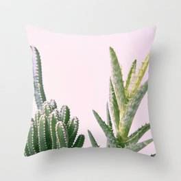 #03#cactus#succulent#plant Throw Pillow