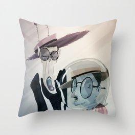 A couple of crazy wackos. Throw Pillow