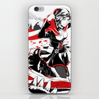 rwby iPhone & iPod Skins featuring RWBY: Ruby Rose  by Proteus Muna
