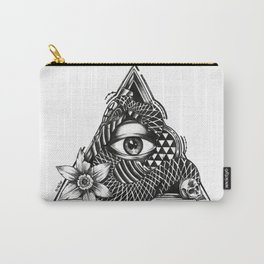 Triangle Eye Carry-All Pouch