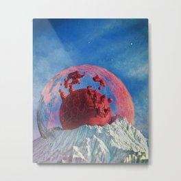 Day 0452 /// Not a moon butt Metal Print