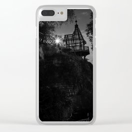 Explore by Moonlight Clear iPhone Case